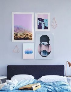 chambre à coucher couleur greylac