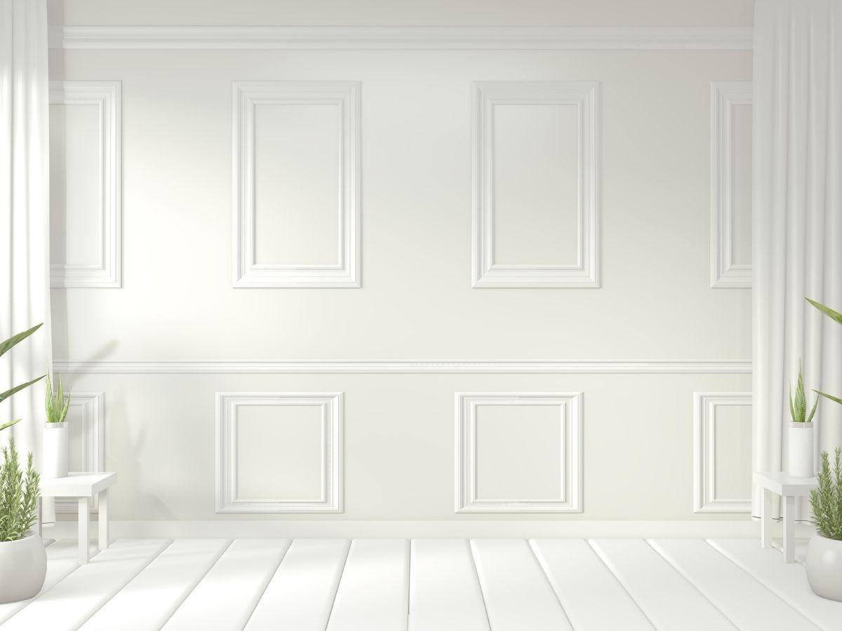 peinturer moulure blanches