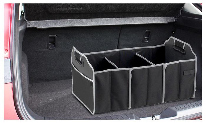 compartiment horizontal pour transporter du matériel en voiture