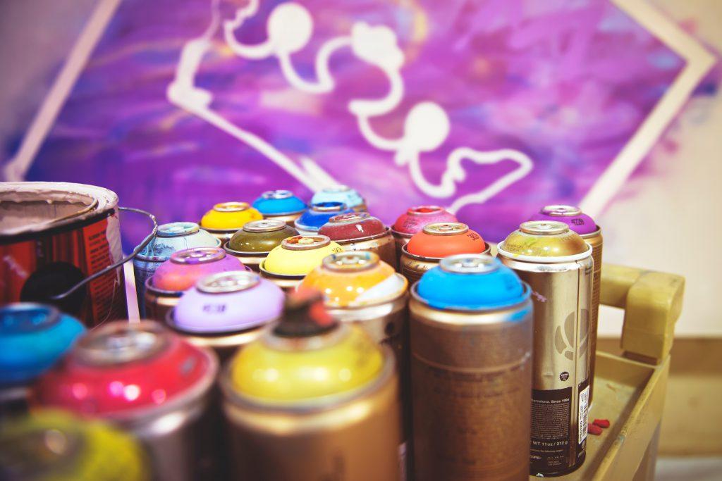 Peinture aérosol recyclage