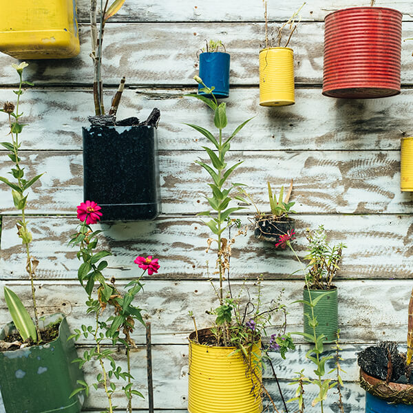 Économiser de la peinture et aider l'environnement en recyclant