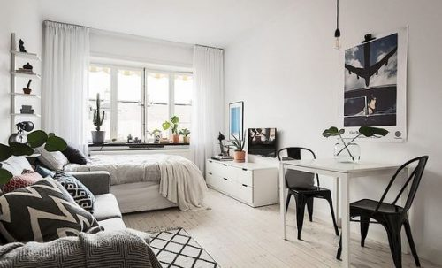 Déco pour petit appartement : 6 trucs peinture pour faire paraitre les petites pièces plus grandes!
