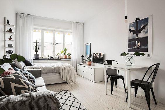 d co pour petit appartement 6 trucs peinture pour faire paraitre les petites pi ces plus. Black Bedroom Furniture Sets. Home Design Ideas
