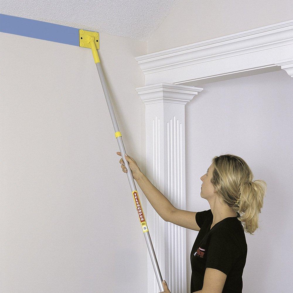 peindre un plafond tr s haut trucs et outils co peinture. Black Bedroom Furniture Sets. Home Design Ideas