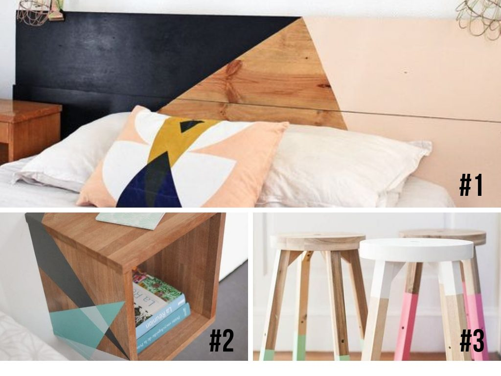 projet peinture bois