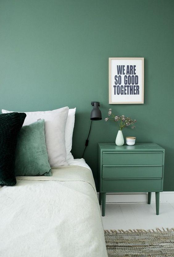 Peinture Verte Chambre