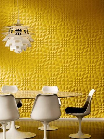 murale jaune