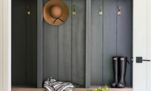 3 façons d'ajouter un peu de couleur dans votre hall d'entrée!