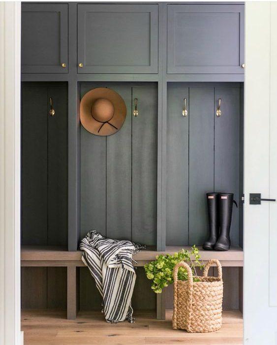 3 fa ons d ajouter un peu de couleur dans votre hall d entr e co peinture. Black Bedroom Furniture Sets. Home Design Ideas