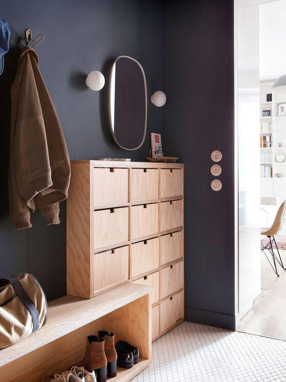 3 façons d\'ajouter un peu de couleur dans votre hall d\'entrée!