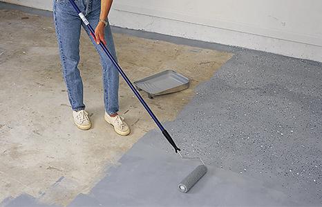 peinturer plancher garage