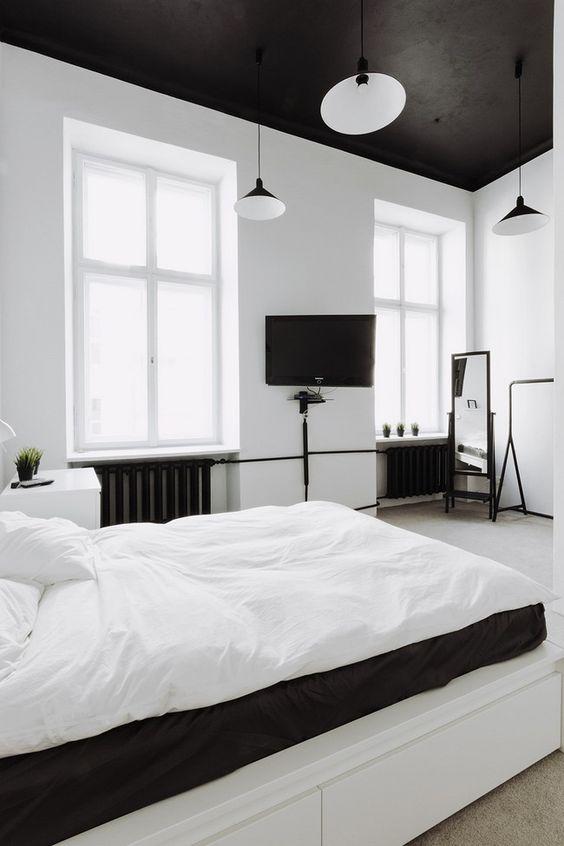 plafond couleur noir