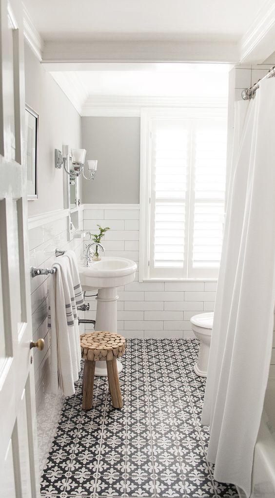 ceramique motifs salle de bain
