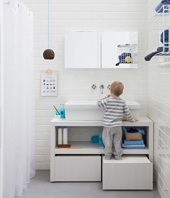 meuble lavabo pour enfants
