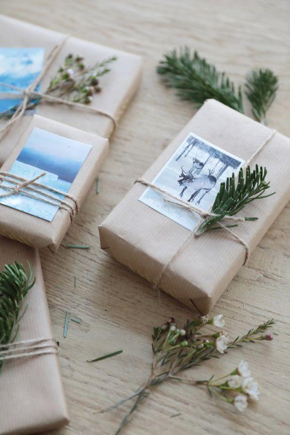emballage papier et image