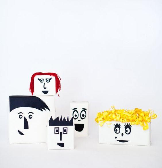 emballage dessin enfant