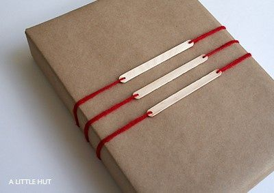 emballage papier kraft et popsicle