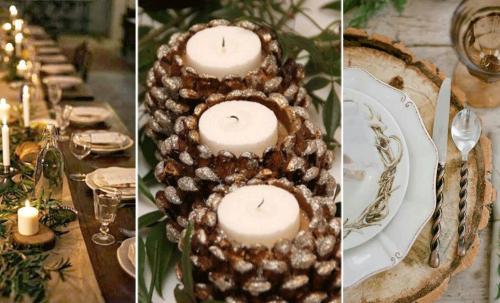 Décorer une table pour Noël en mode «zéro déchet»