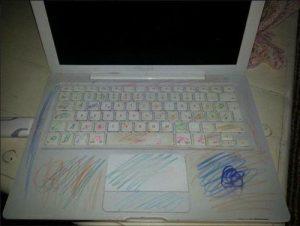 peinture sur ordinateur