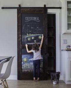 peinture tableau sur porte