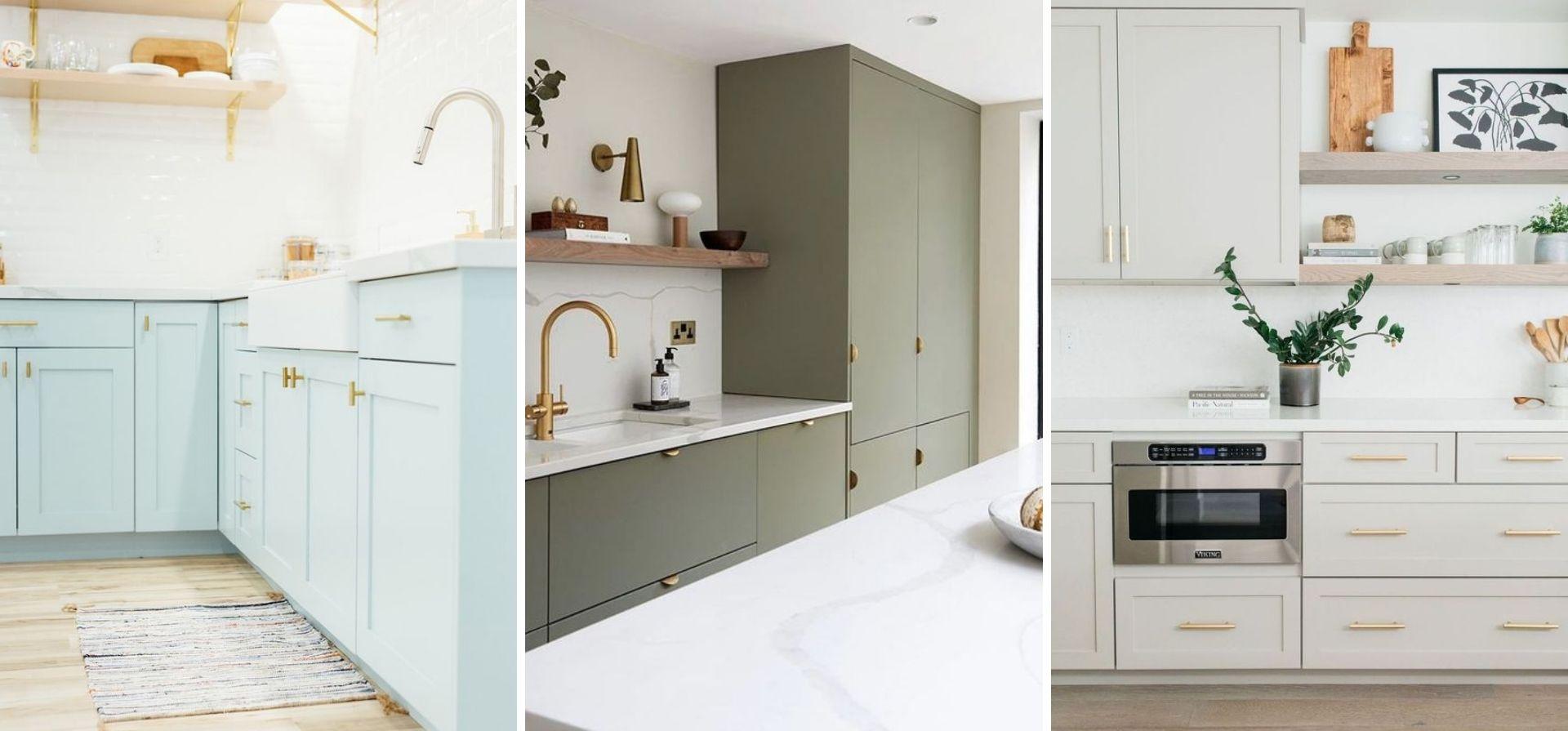 renovation armoire bois poignee