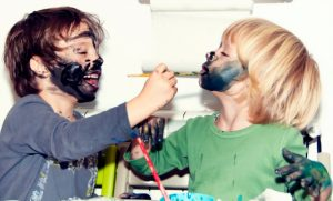 enfants peinture visage