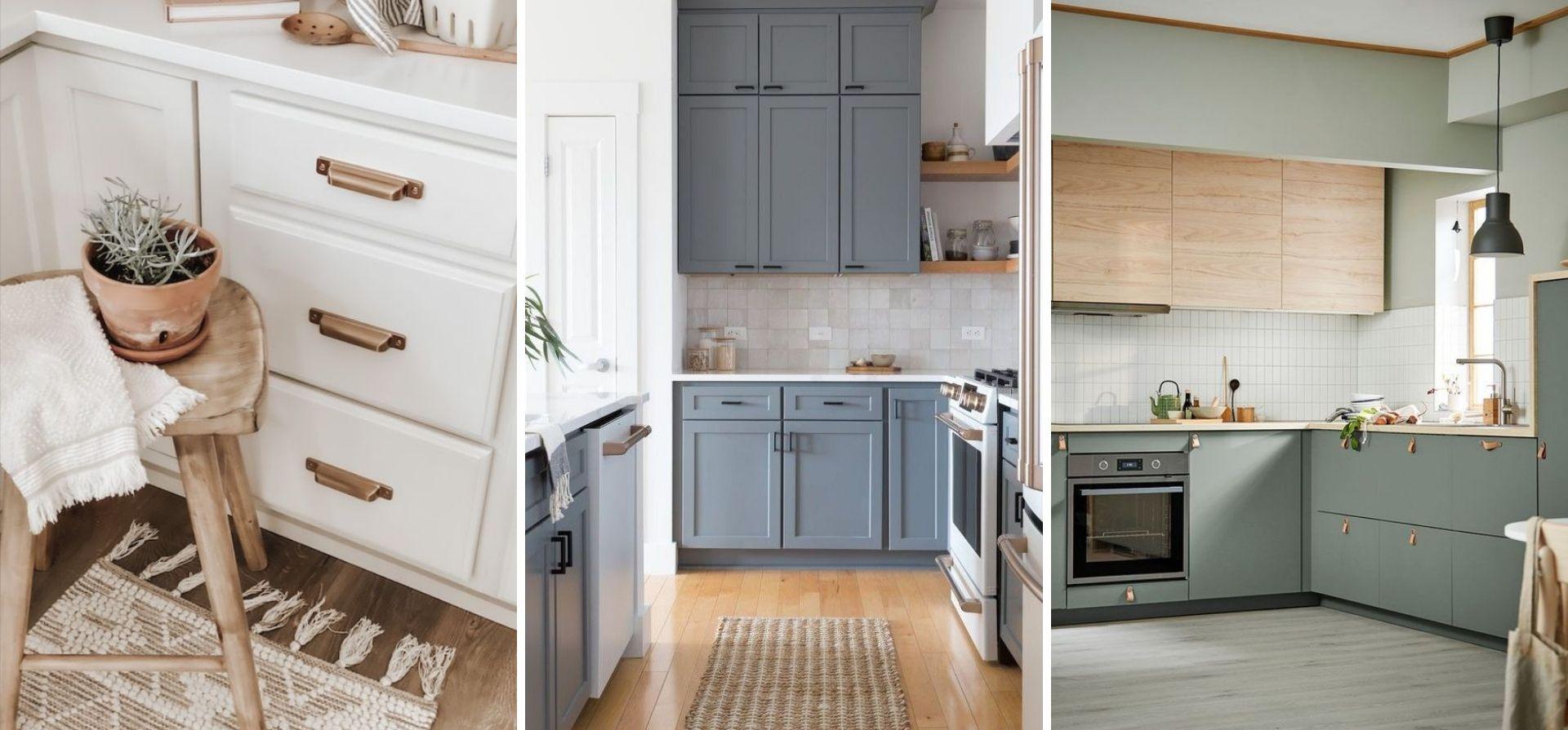 changer poignee armoire cuisine