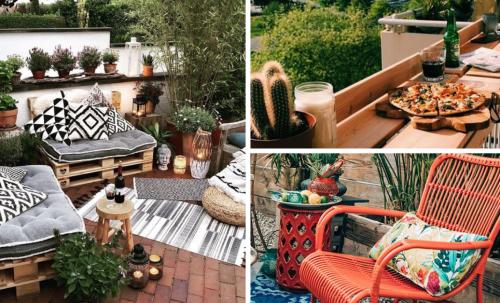 9 idées pour aménager un patio à peu de frais