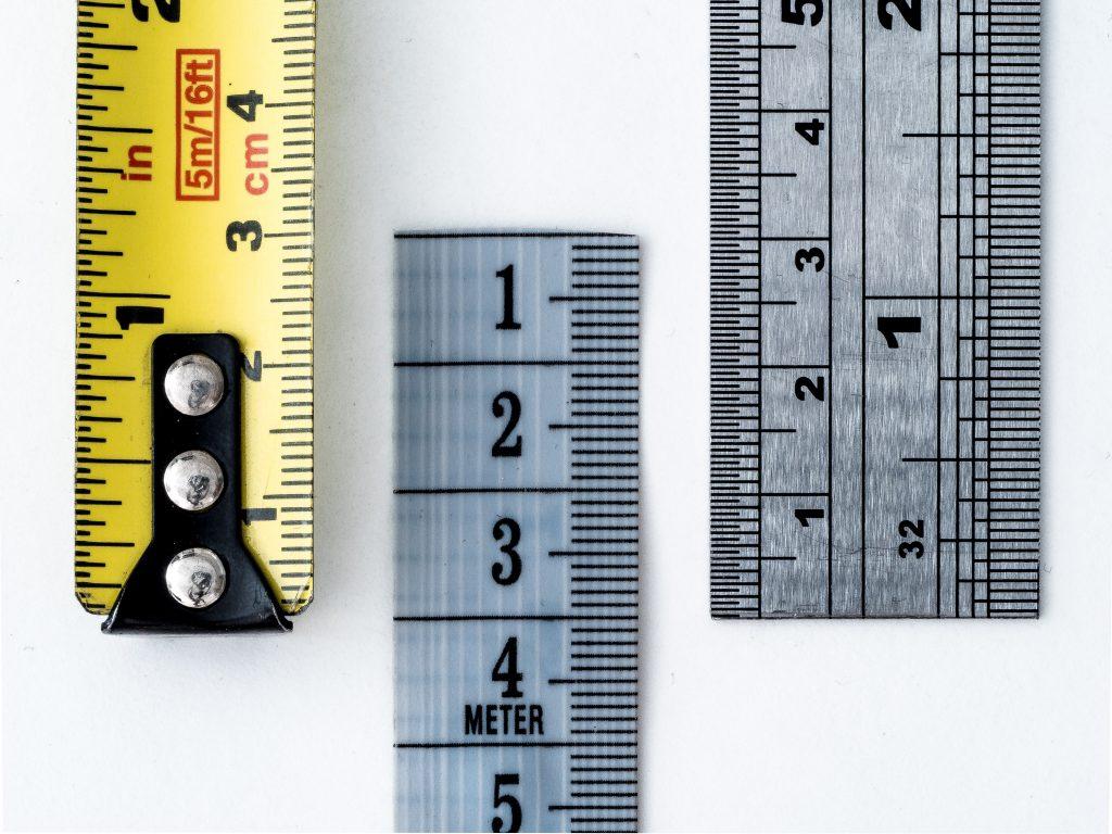 mesurer les espaces demenagement