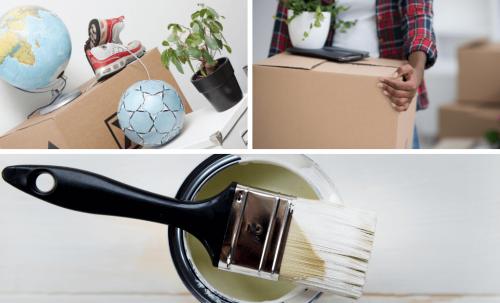 5 astuces pour recycler votre peinture lors d'un déménagement