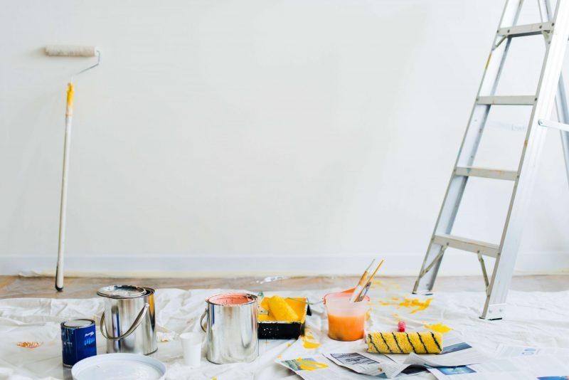materiel de peinture varie