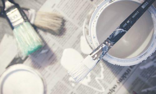 5 items de peinture à ne pas jeter à la poubelle