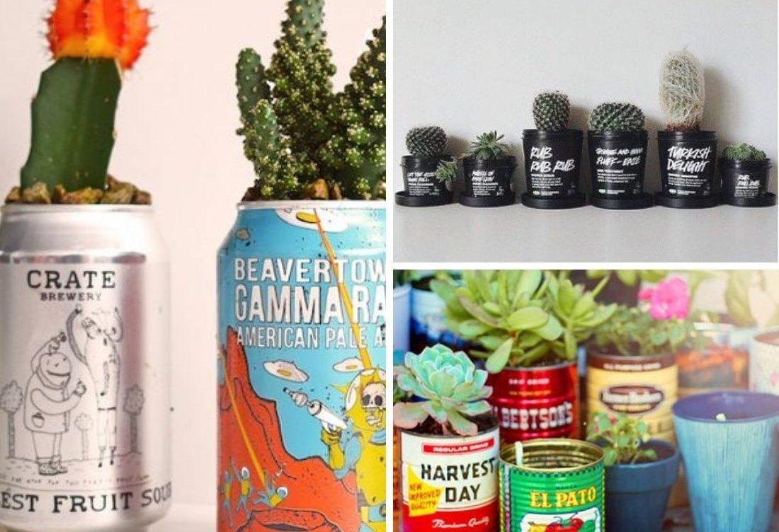 DIY : 9 concepts géniaux pour pots à fleurs et jardinières à réaliser soi-même!