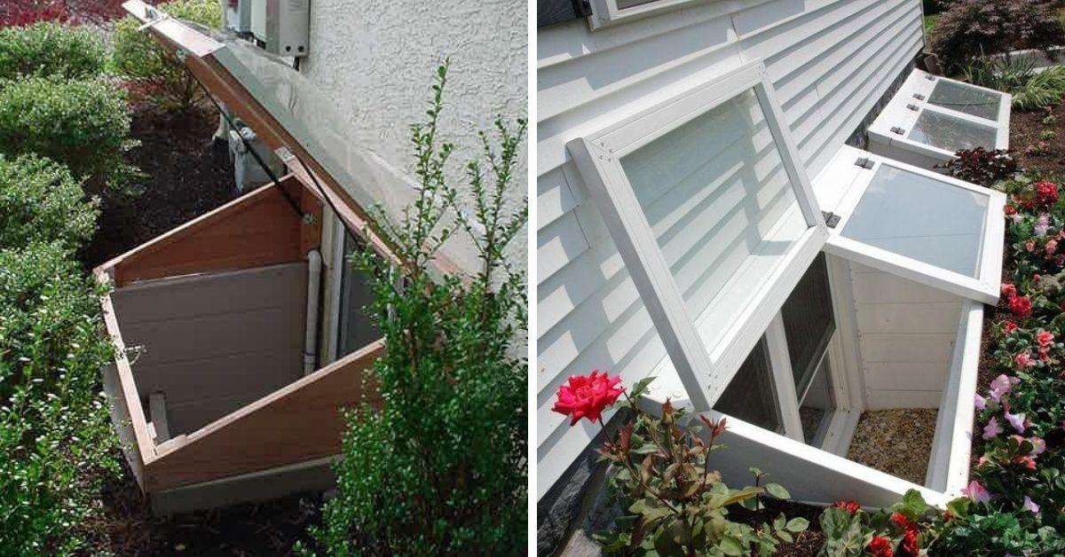 rješenje za održavanje podrumskog prozora