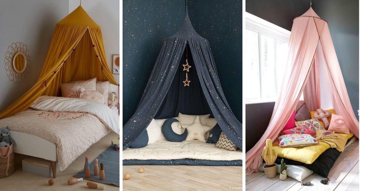 maisonnette en ciel de lit