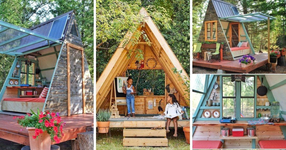 Construire Une Cabane Pour Enfants Idees Pour Tous Les Budgets