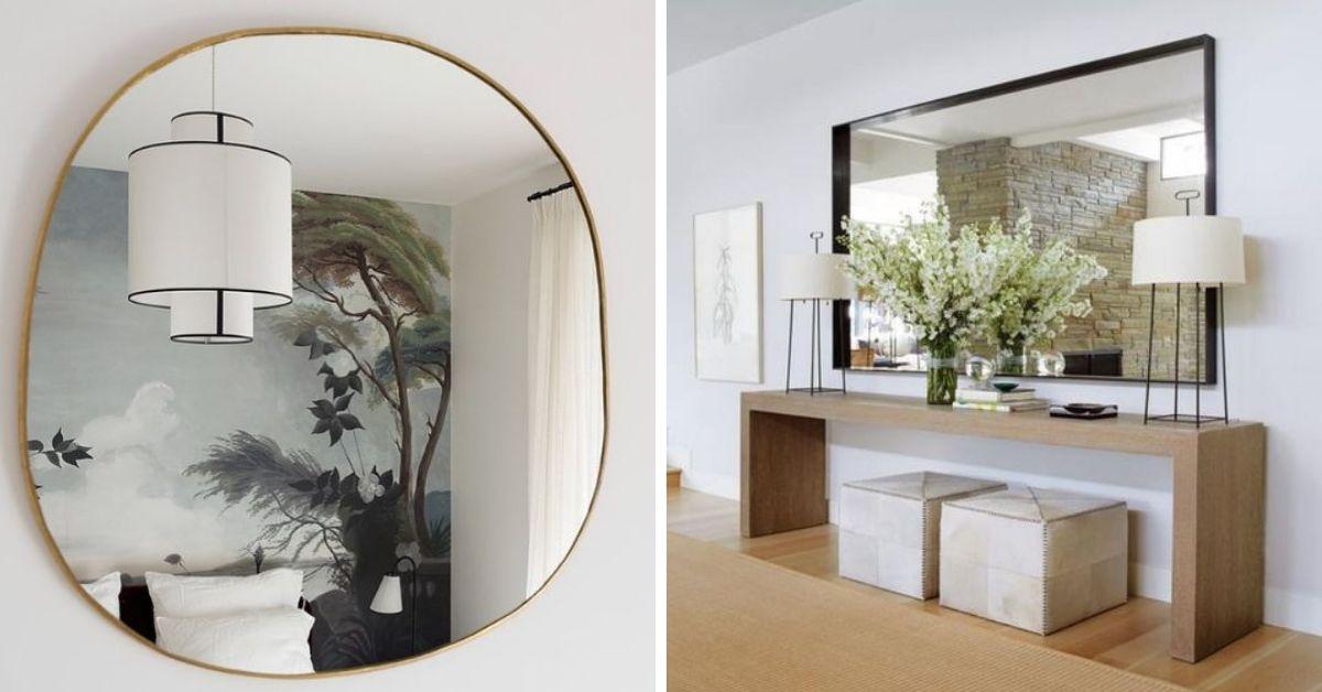 miroir pour lumiere dans sous-sol