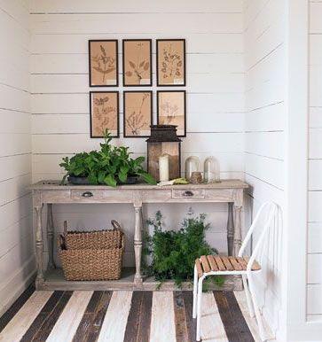 peinture plancher bois rayee