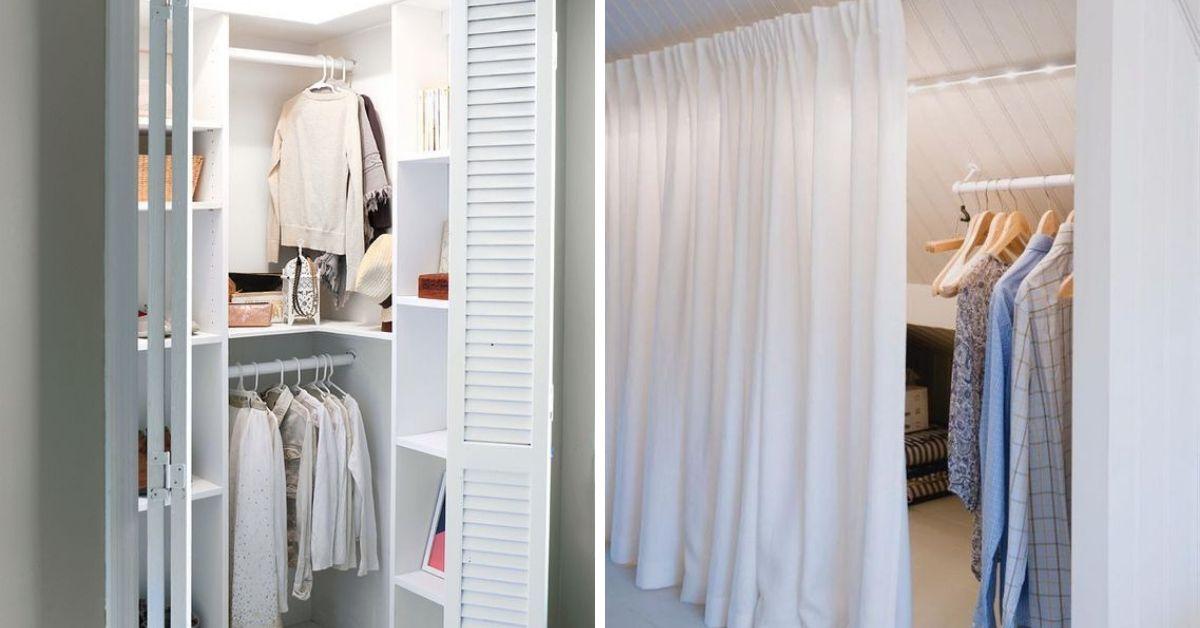 espace pour garde-robe