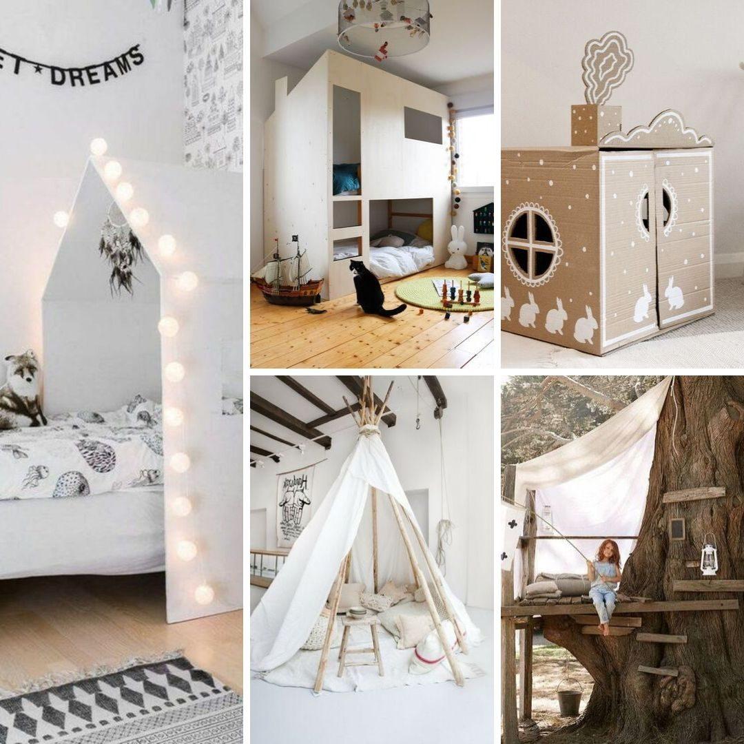 Fabriquer Ciel De Lit construire une cabane pour enfants : idées pour tous les budgets