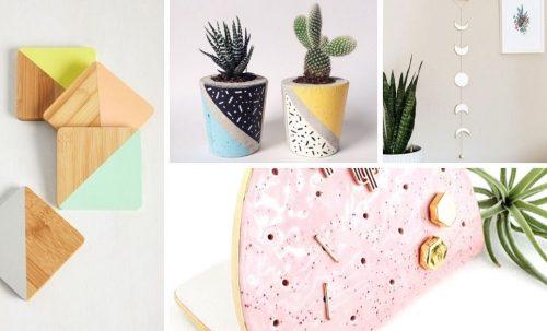 7 idées-cadeaux DIY à faire avec de la peinture