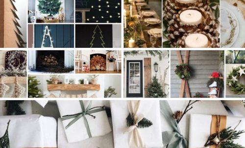 Inspirations pour un Noël écolo : bricolages, emballages cadeaux et décorations