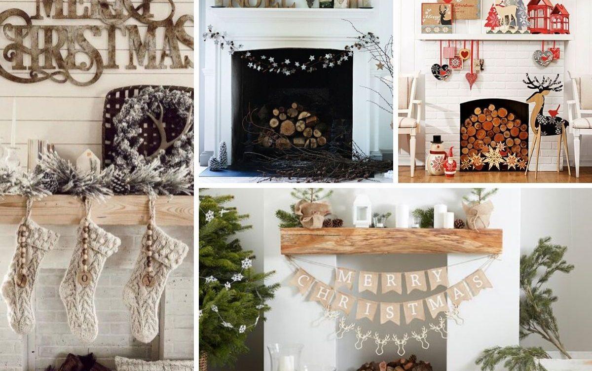 Inspirations Pour Decoration De Manteau De Foyer Pour Noel