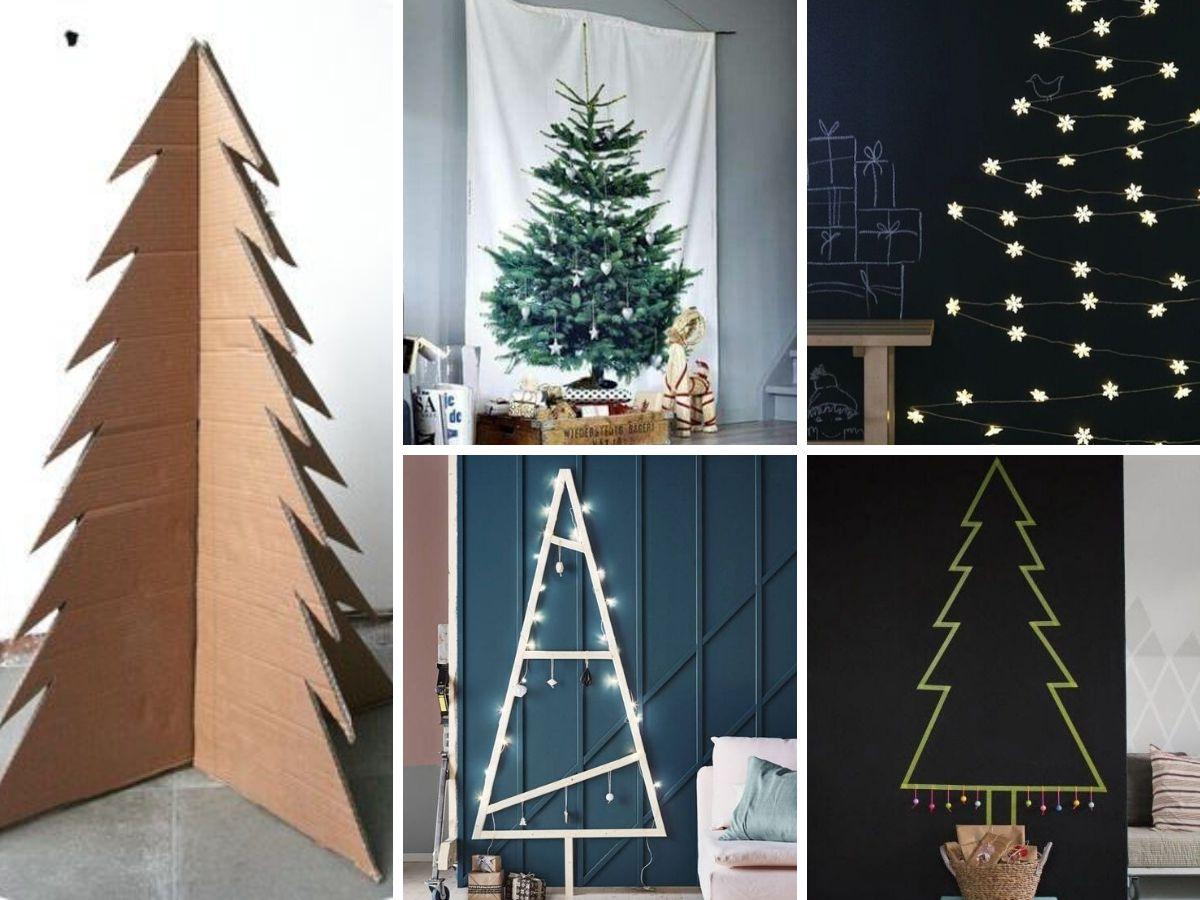 Projets sapin de Noël pour petit espace ou petit budget