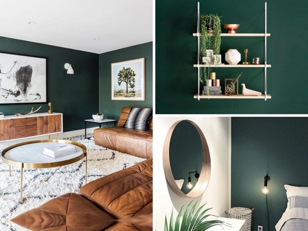 couleur tendance vert emeraude