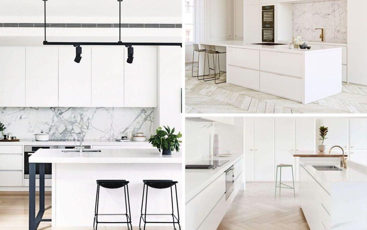 Cuisine Blanche 6 Concepts Pour Montrer Votre Cote Lumineux