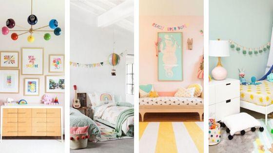 chambre enfants couleur pales