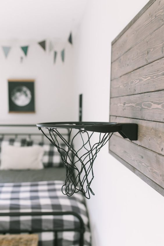 panier basketball chambre enfant