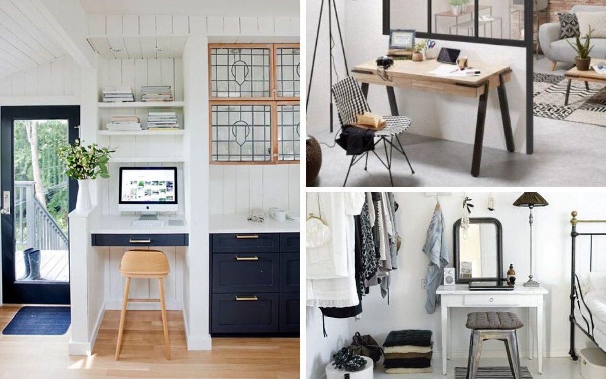 Télétravail : endroits où aménager un coin bureau à la maison