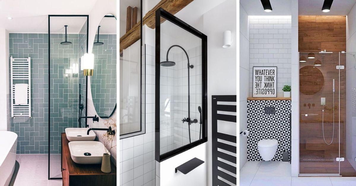 douche vitrée petite salle de bain